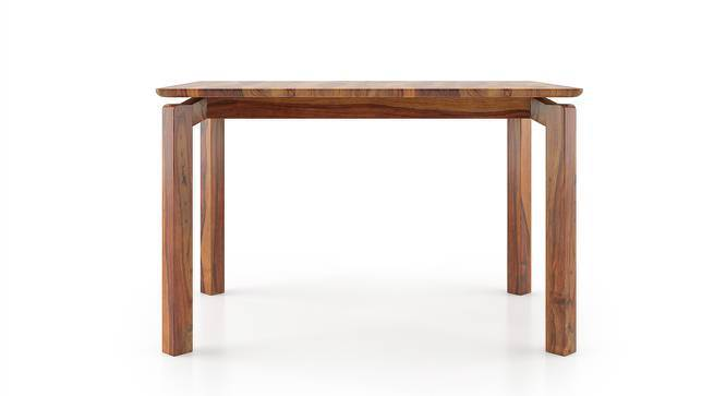 Catria 6 Seater Dining Table (Teak Finish) by Urban Ladder