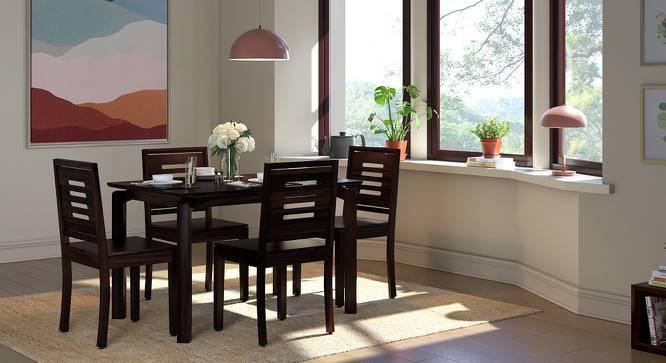 Catria - Capra 6 Seater Dining Table Set (Mahogany Finish) by Urban Ladder