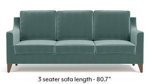 Abbey Sofa (Dusty Turquoise Velvet)