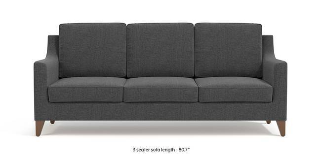 Abbey Sofa (Steel Grey) (1-seater Custom Set - Sofas, None Standard Set - Sofas, Steel, Fabric Sofa Material, Regular Sofa Size, Regular Sofa Type)
