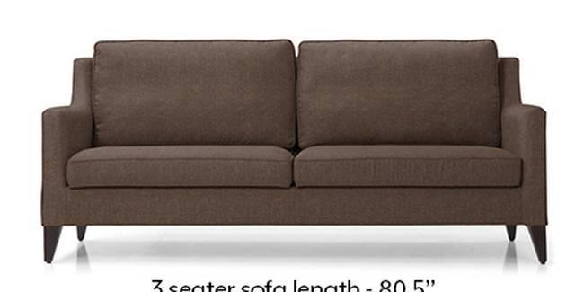 Greenwich Sofa (Mocha, Fabric Sofa Material, Regular Sofa Size, Soft Cushion Type, Regular Sofa Type, Master Sofa Component)