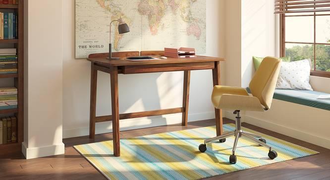 Larsson Study Table (Teak Finish) by Urban Ladder