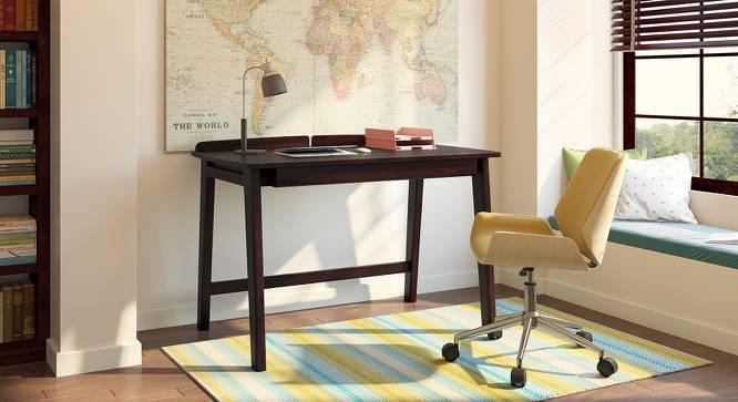 Larsson Study Table (Mahogany Finish) by Urban Ladder