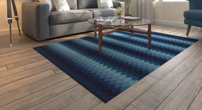 "Takashi (Blue, 36"" x 60"" Carpet Size) by Urban Ladder"
