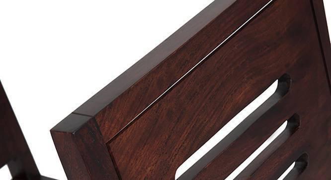 Arabia XL - Capra 6 Seater Dining Set (Mahogany Finish) by Urban Ladder