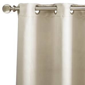 "Umbra Blackout Window Curtains - Set Of 2 (54"" x 60"" Curtain Size, Taupe Grey) by Urban Ladder"