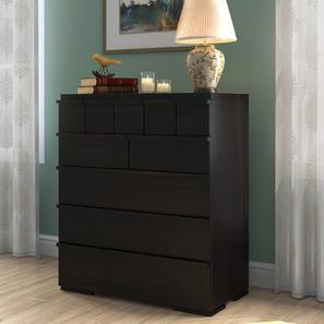 Ohio Chest Of Ten Drawers (Mahogany Finish) by Urban Ladder