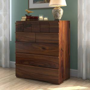 Ohio Chest Of Ten Drawers (Teak Finish) by Urban Ladder