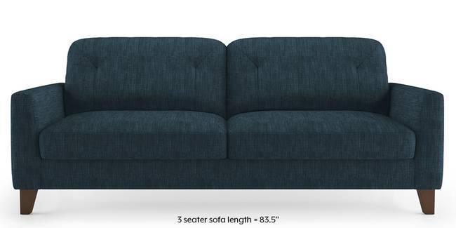 Bradford Sofa (Indigo Blue) (1-seater Custom Set - Sofas, None Standard Set - Sofas, Indigo Blue, Fabric Sofa Material, Regular Sofa Size, Regular Sofa Type)