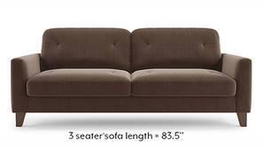 Bradford Sofa (Daschund Brown)