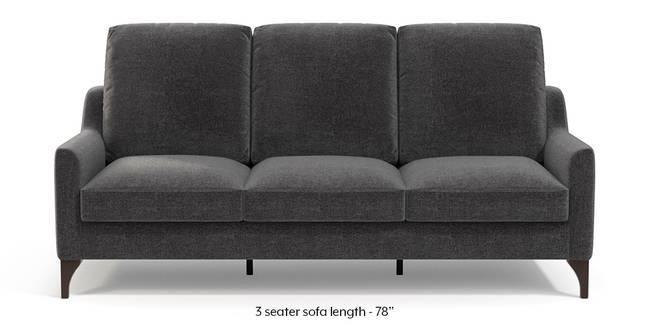 Norden Sofa (Smoke Grey) (1-seater Custom Set - Sofas, None Standard Set - Sofas, Smoke, Fabric Sofa Material, Regular Sofa Size, Regular Sofa Type)