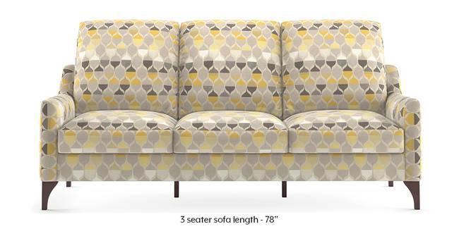 Norden Sofa (Geometric) (1-seater Custom Set - Sofas, None Standard Set - Sofas, Fabric Sofa Material, Regular Sofa Size, Regular Sofa Type, Geometric)