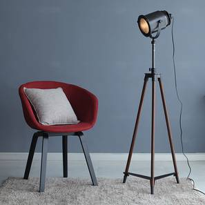 Barbara Floor Lamp (Black Base Finish) by Urban Ladder