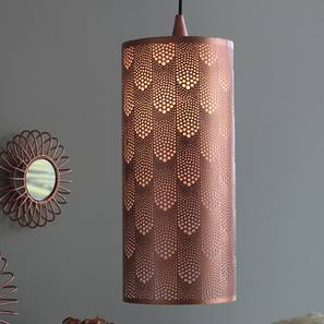 Beswick Hanging Lamp (Copper Finish) by Urban Ladder