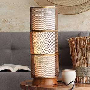 Kano Table Lamp (Gold Base Finish) by Urban Ladder