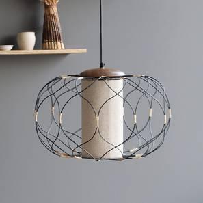 Marsa Hanging Lamp (Black Finish) by Urban Ladder