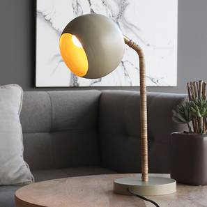 Oran Table Lamp (Beige Finish) by Urban Ladder