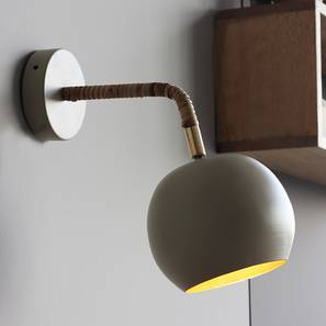 Mero Wall Lamp (Beige Finish) by Urban Ladder