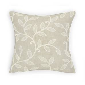 "Foglia Cushion Cover - Set Of 2 (Beige, 16"" X 16"" Cushion Size) by Urban Ladder"