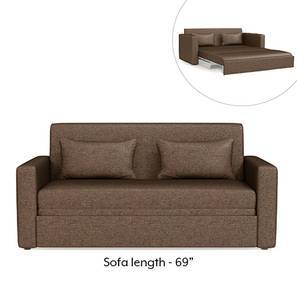 Apollo Sofa Cum Bed (Mocha Brown)