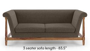 Malabar Wooden Sofa (Pine Brown)