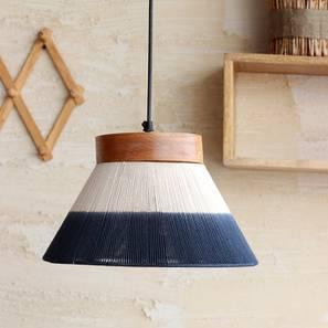 Kharga Hanging Lamp (Natural Finish) by Urban Ladder