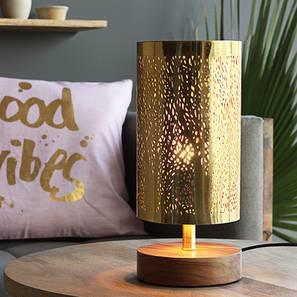 Mendoza Table Lamp (Gold Base Finish) by Urban Ladder