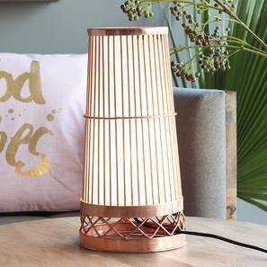 Paso Table Lamp (Copper Base Finish) by Urban Ladder