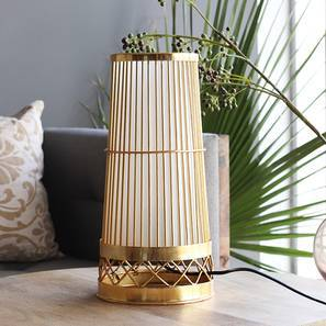 Paso Table Lamp (Gold Base Finish) by Urban Ladder