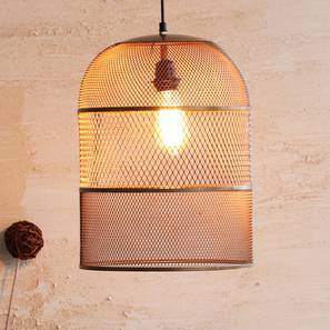 Marra Hanging Lamp (Gold Finish) by Urban Ladder