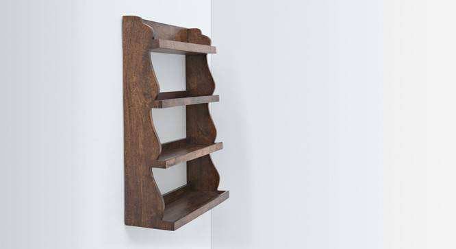 Gusteau Kitchen Rack (Walnut Finish) by Urban Ladder