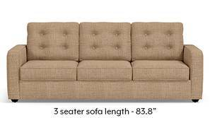 Apollo Tufted Sofa (Sandshell Beige)