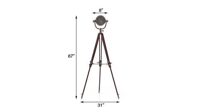 Endeavour tripod floor lamp antiquebrass 11 img 0368 dm