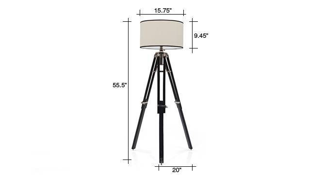 Hubble tripod floor lamp cotton white drum shade 09 img 0738 dm