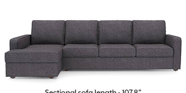 Apollo Sofa Set (Steel, Fabric Sofa Material, Regular Sofa Size, Soft Cushion Type, Sectional Sofa Type, Sectional Master Sofa Component, Regular Back Type, Regular Back Height)