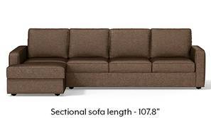 Apollo Sectional Sofa (Mocha)