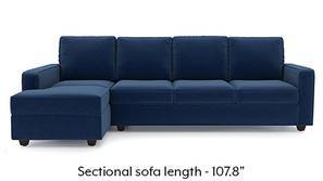Apollo Sectional Sofa (Cobalt)