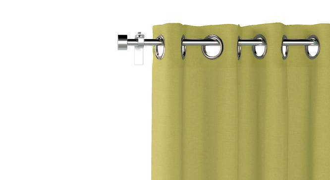 """Ethos Door Curtains - Set Of 2 (Pistachio Green, 52""""x108"""" Curtain Size) by Urban Ladder"""
