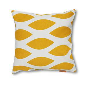 SeeSaw Cushion Cover - Set Of 2 (Fishnet Yellow Pattern) by Urban Ladder
