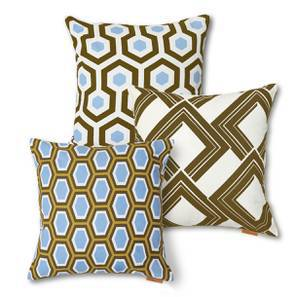 Moroccan Maze Cushion Cover - Set Of 3 (Multi Colour) by Urban Ladder
