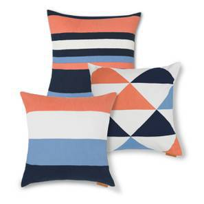 Sunrise Cushion Cover - Set Of 3 (Multi Colour) by Urban Ladder