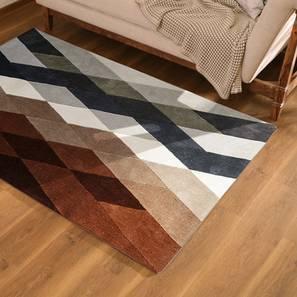 "Carlton Carpet (Brown, 36"" x 60"" Carpet Size) by Urban Ladder"