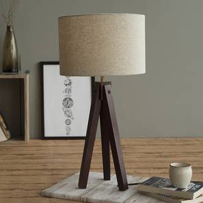 Jersey Table Lamp-Dark Walnut (Dark Walnut Base Finish) by Urban Ladder