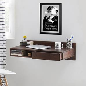 Wodehouse Wall Desk (Walnut Finish)