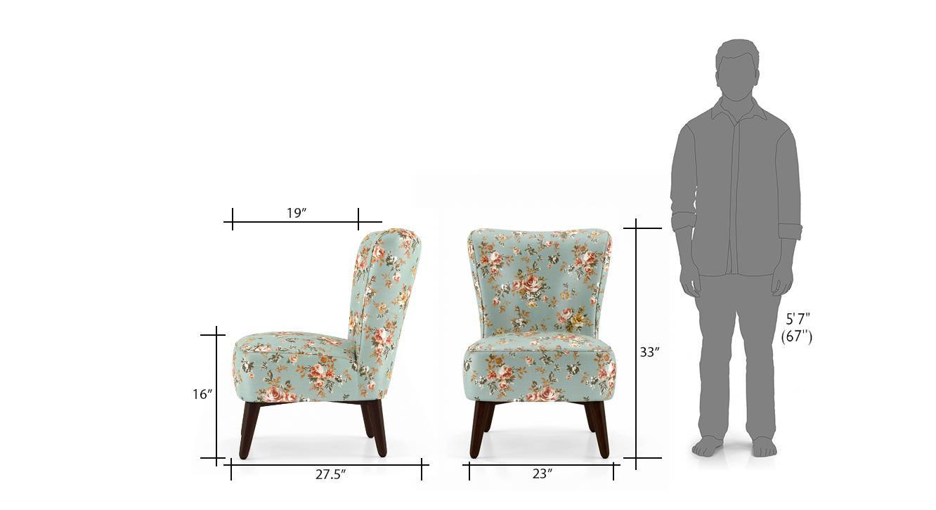Greta lounge chair floral 6