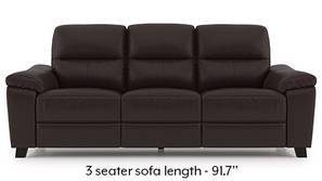 Teramo Motorized Recliner Sofa Set (Brown)