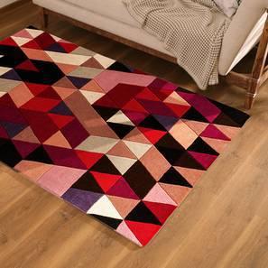 "Cameroon Carpet (36"" x 60"" Carpet Size, Salmon) by Urban Ladder"