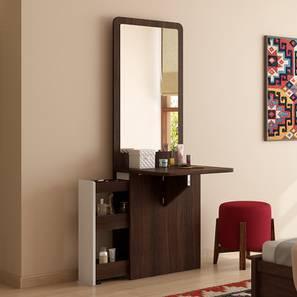 Darcy Dresser (Dark Walnut Finish, Left Aligned Alignment) by Urban Ladder