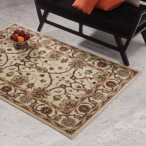 "Sepolis Hand Tufted Carpet (Rust, 48"" x 72"" Carpet Size)"