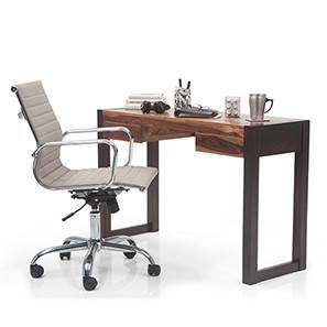 Austen - Charles Study Set (Two-Tone Finish, Grey) by Urban Ladder